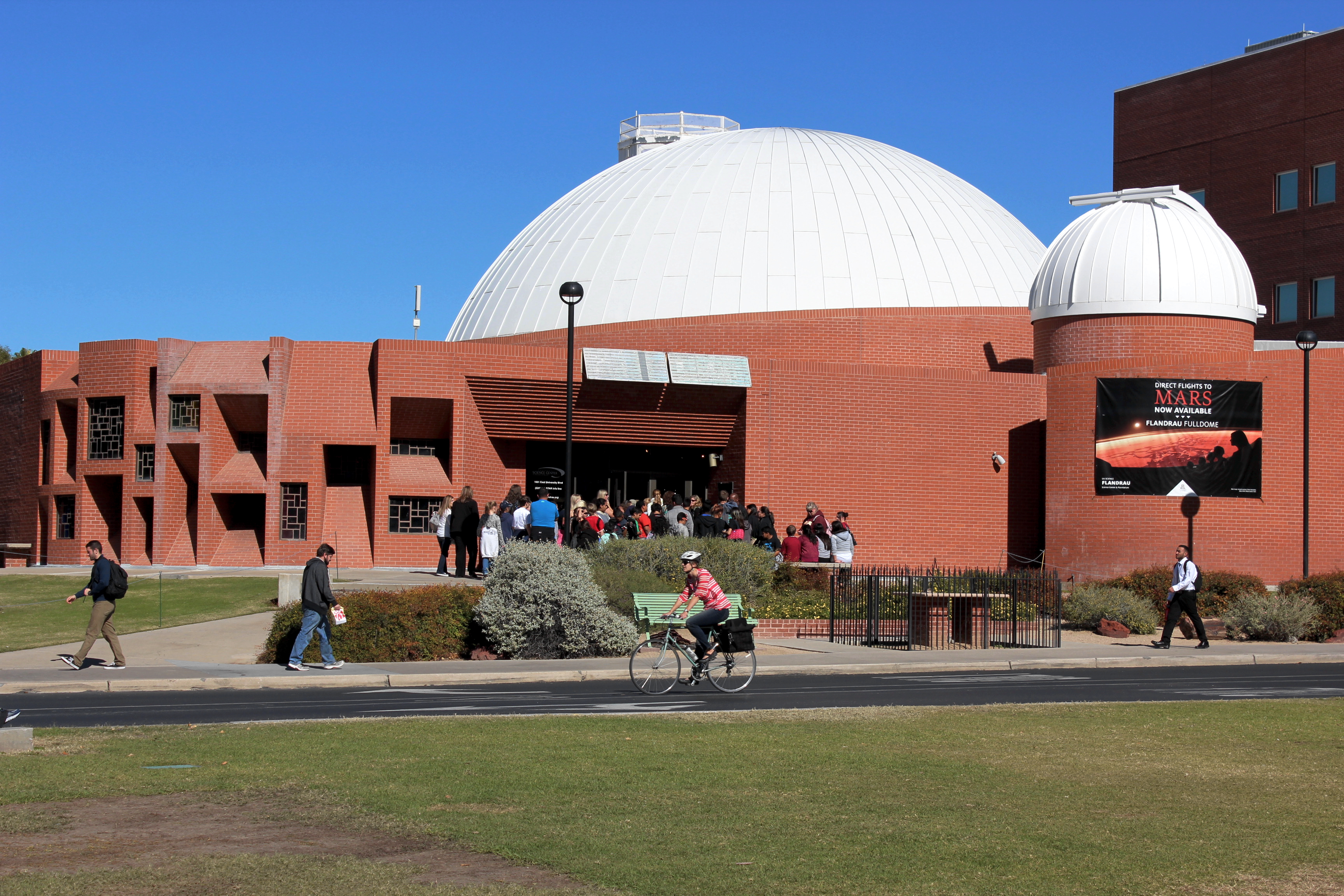 Flandrau Science Center  Planetarium