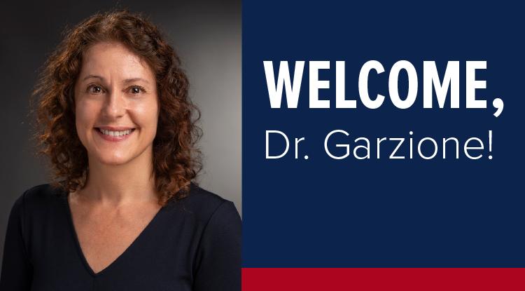 Welcome, Dr. Garzione